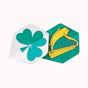 Harp And Clover Darts Flights