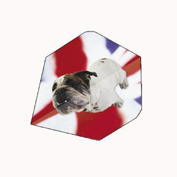 British Bulldog Darts Flights