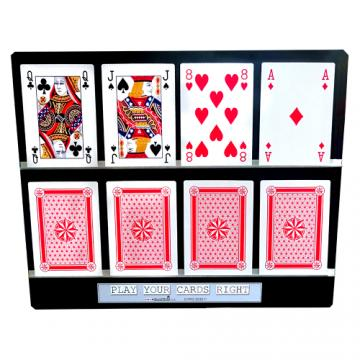 Play Your A5 Cards Right - Model A5DT 4 x 2
