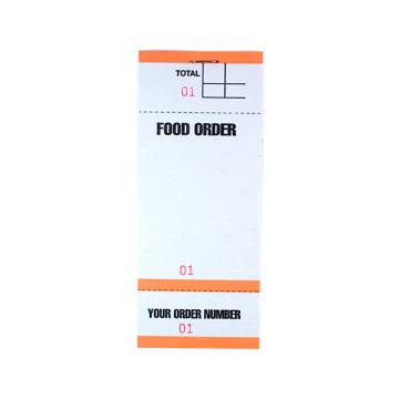 Food Order Pads - Mixed Colour (BF84) (PAD84)