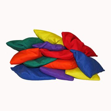 Plain Coloured Bean Bags Mixed