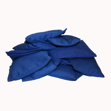 Plain Coloured Bean Bags Blue