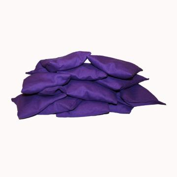 Plain Coloured Bean Bags Purple