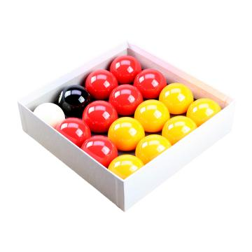 Red and Yellow Pool Ball Set, Standard