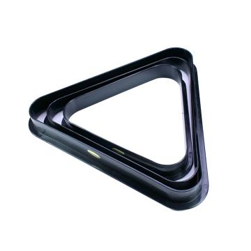 Black Plastic Triangle Rack for 10 x 2 Inch Balls