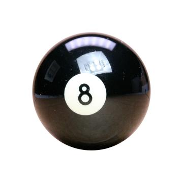 Black No.8 Ball Aramith 2 1/4 Inch