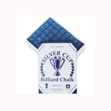 Blue Silver Cup Chalk Box of 144pcs
