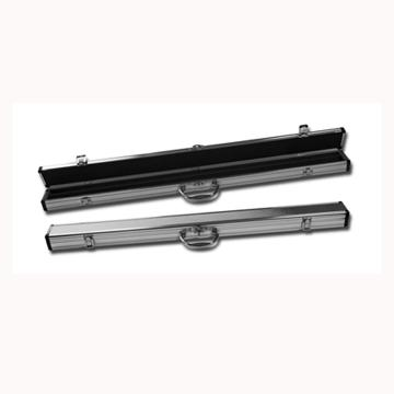 Chrome Hard Case for a 2 Piece Cue