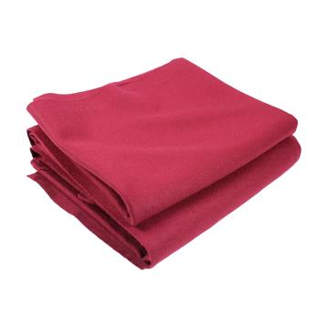 777 Pool Cloth Bed & Cushions 6ft x 3ft Red