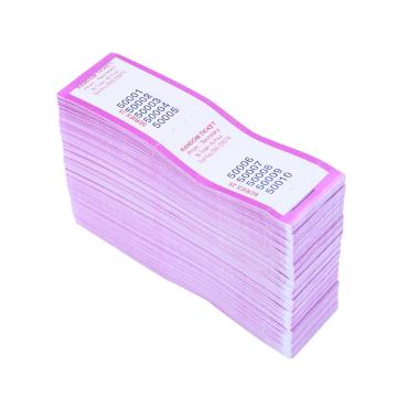 Purple 10 To View Raffle Pads