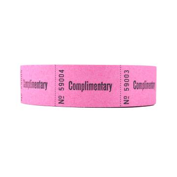 Complimentary Roll Tickets