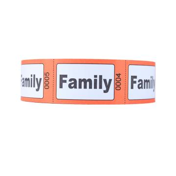 Family Roll Tickets