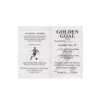Golden Goal Break Open Cards
