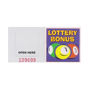 National Lottery Bonus Ball Break Open Tickets