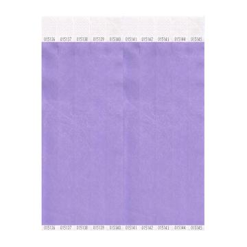 Lavendar Tyvek 19mm Wristbands