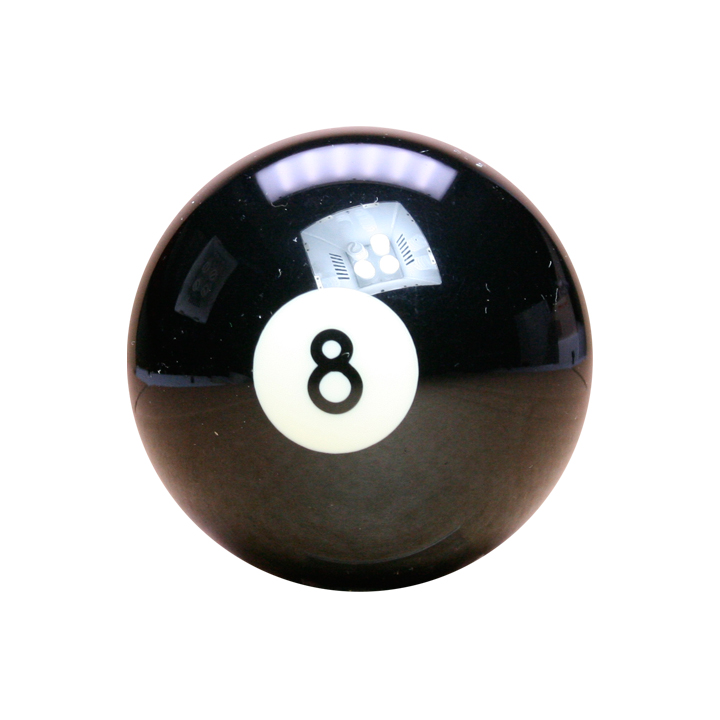 """Pool Snooker Billiard NEW Spare Cue Ball Eight 8 BLACK 1 /& 7//8/"""" Inch Size"""