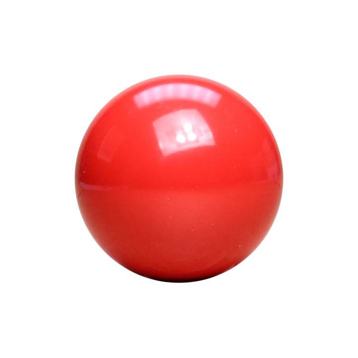 Red Pool Ball 2 Inch