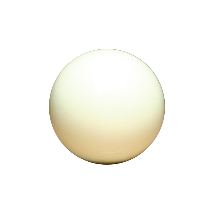 White Cue Ball Aramith 2 1/16 Inch