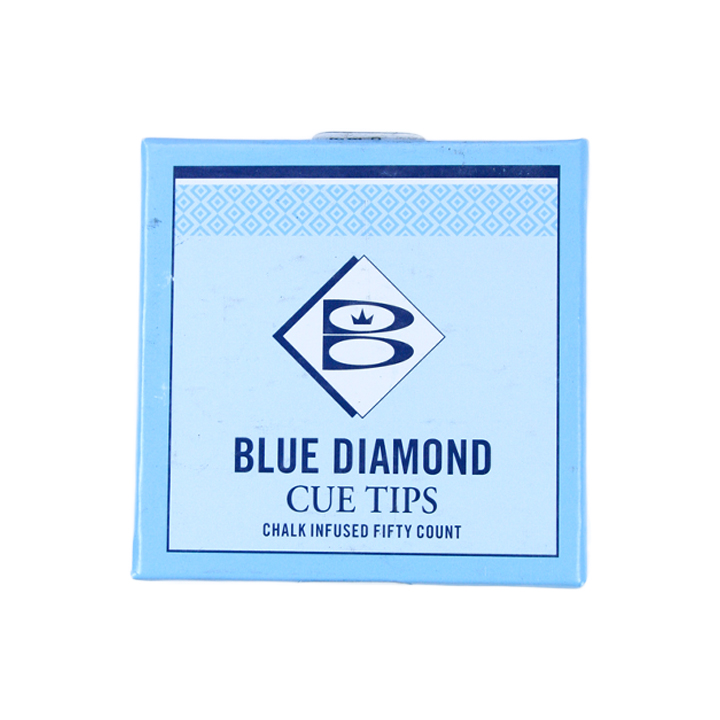 Blue Diamond Glue on Tips 11mm (5pcs)