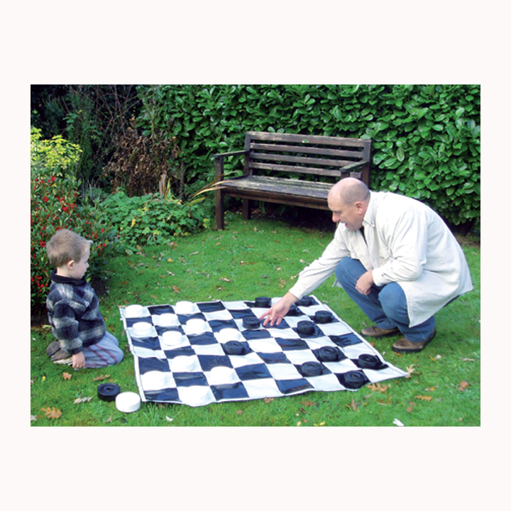 Large Draughts Set
